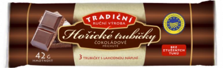 Hořické trubičky 42g (48) čokoláda