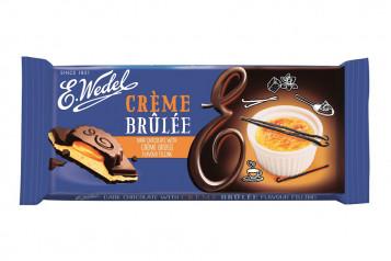WEDEL-DARK CHOC. creme brulee 100g (19)