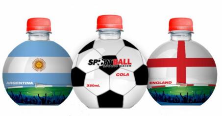Sportball 330ml FOOTBALL (6)