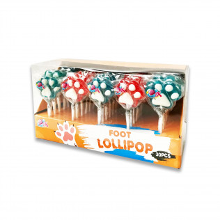 líz. FOOT lollipop 15g (12x30)